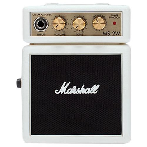 Ampli Marshall MS-2W Micro Amp, Trắng - M31-MS-2W-E