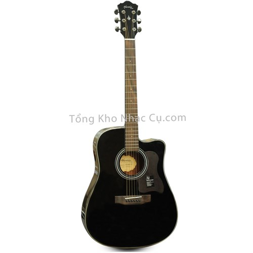 Đàn Guitar Acoustic Mantic AG-370CBK