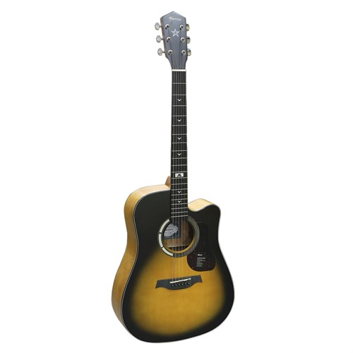 Đàn Guitar Acoustic Mantic GT-1DCSB Sunburst