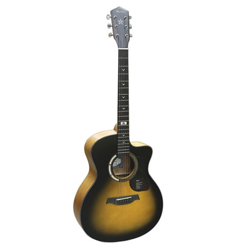 Đàn Guitar Acoustic Mantic GT-1GCSB Sunburst