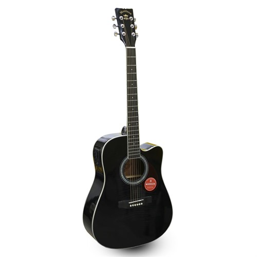 Đàn Guitar Acoustic Morrison MGW 405CBK EQ (Solid Top)