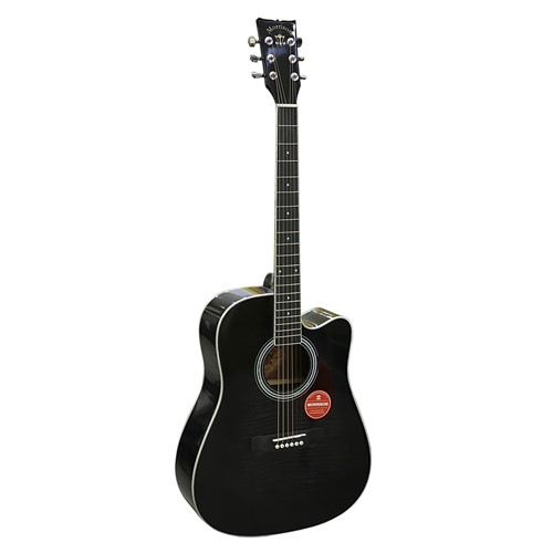 Đàn Guitar Acoustic Morrison MGW 405CBK (Solid Top)