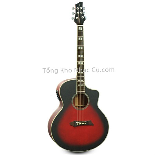 Đàn Guitar Acoustic NG ST RD EQ