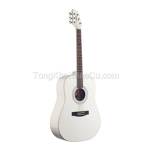 Đàn guitar Acoustic Stagg SW205-WH