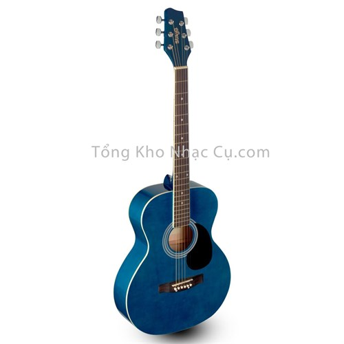 Đàn guitar acoustic Stagg SA20A Blue