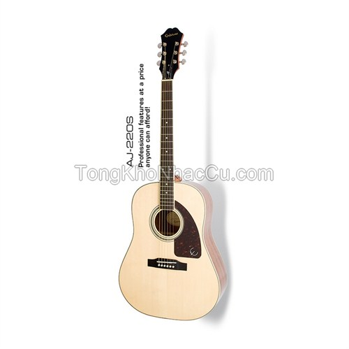 Đàn Guitar Acoustic Epiphone AJ-220S Natural