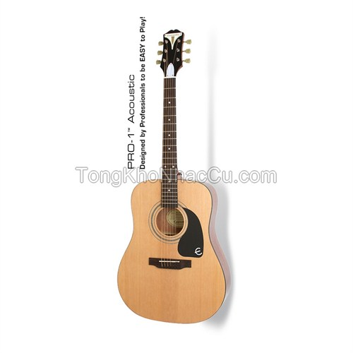 Đàn Guitar Acoustic Epiphone PRO-1, Natural