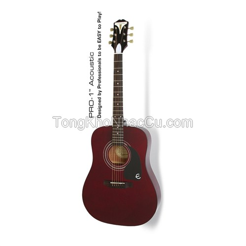 Đàn Guitar Acoustic Epiphone PRO-1, Wine Red