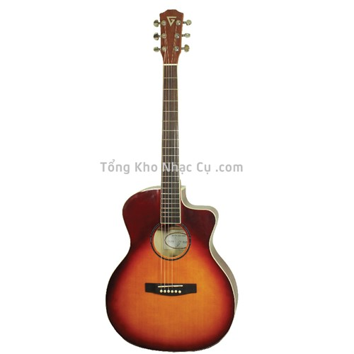 Đàn Guitar Acoustic Việt Nam VG AS200SB