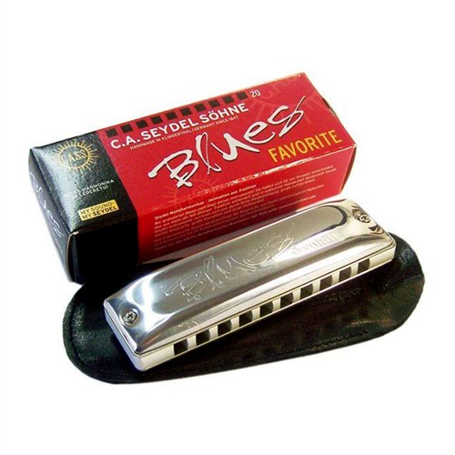 Kèn harmonica Seydel Diatonic Blues Favorite 15201 (Key A)