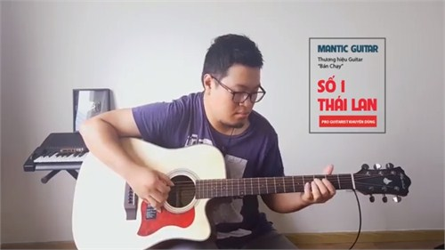 Review Guitar Acoustic Mantic AG370C (2tr100k)