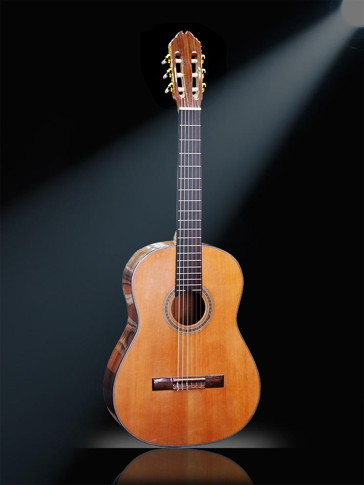 đàn guitar classic việt nam luthier c250 gỗ điệp