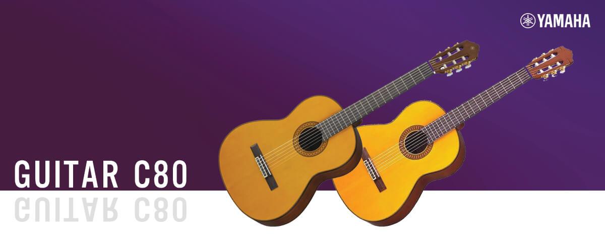 đàn guitar classic yamaha c80 chính hãng giá rẻ