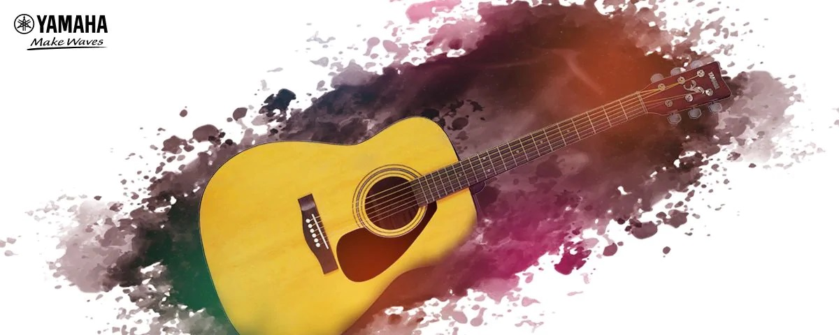 Ảnh thật đàn guitar acoustic yamaha f310 chính hãng giá rẻ