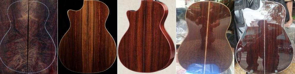 Gỗ Indian Rosewood Guitar