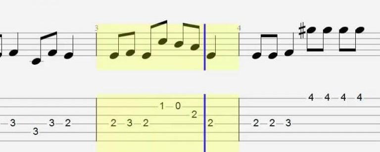 Học đọc Tab Guitar