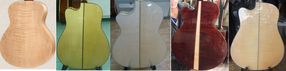 Gỗ Maple European Guitar