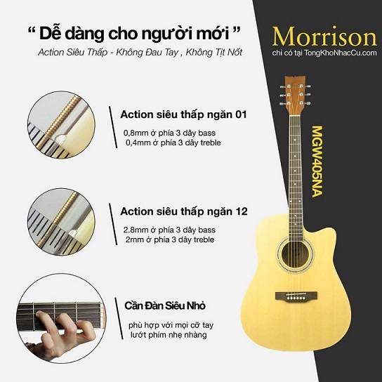 Review Guitar Acoustic - HIển Râu