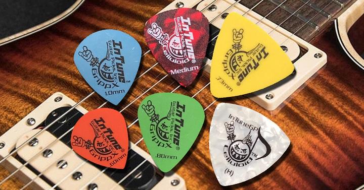 Mua pick up hay miếng móng gảy cho đàn guitar chính hãng, chất lượng, giá  rẻ ở đâu?